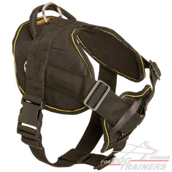 Nylon Dog Harness With Cushion-like Chest Plate