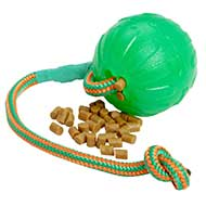 """Roll and Throw"" Chew Dog Ball of Special Rubber"