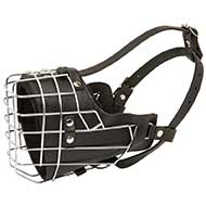 Super Ventilated, Padded, Wire Cage Dog Muzzle