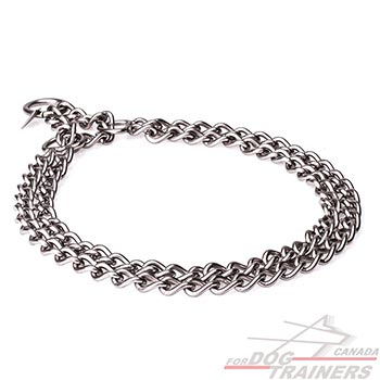 Stainless Steel Dog Chain Collar for Behavior Control
