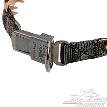 Neck Tech Dog Collar with Quick Release Buckle