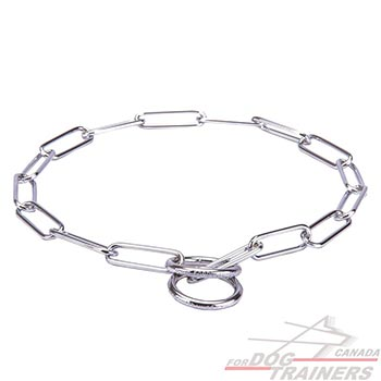Dog choke chains fur saving