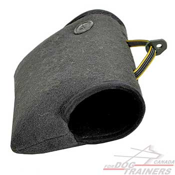 Young&Adult Dog training with french linen bite builder