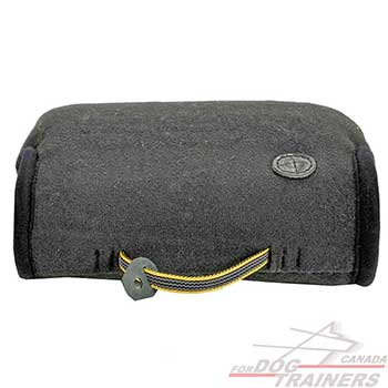 Dog bite builder made of French Linen