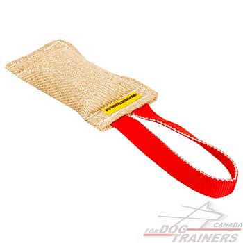 One Handle Training Jute Bite Tug for Dogs
