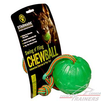Dog Rubber Ball of high-quality safe materials