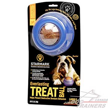 Special rubber dog Treat Dispenser