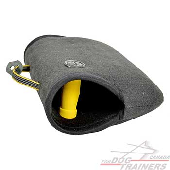 Dog bite builder of French Linen