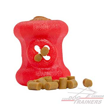 Fire plug toy for food dispensing