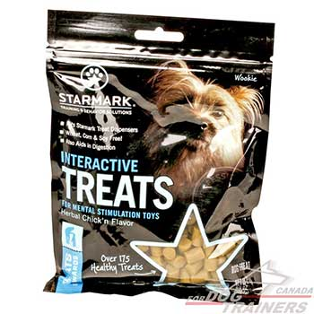 Healthy Dog Treats for Interactive Dispensers