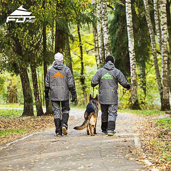 Professional Dog Training Jacket of Fine Quality for All Weather