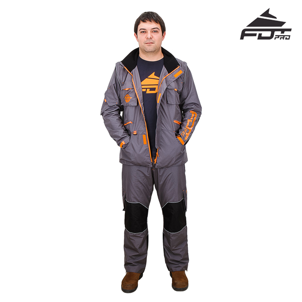 Durable Dog Trainer Suit for All Weather
