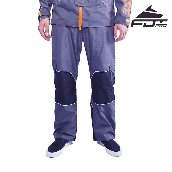 FDT Professional Pants Grey Color for Everyday Use