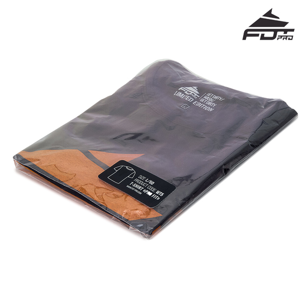 Packed FDT Pro T-shirt of Dark Grey Color