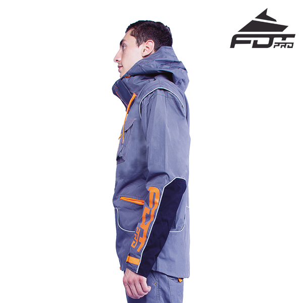 FDT Pro Dog Trainer Jacket of Fine Quality for Everyday Activities
