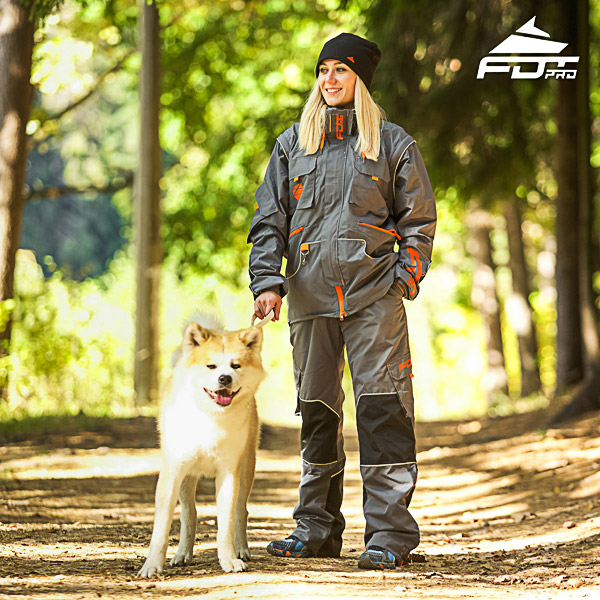 Unisex Design Dog Trainer Jacket of Fine Quality Materials