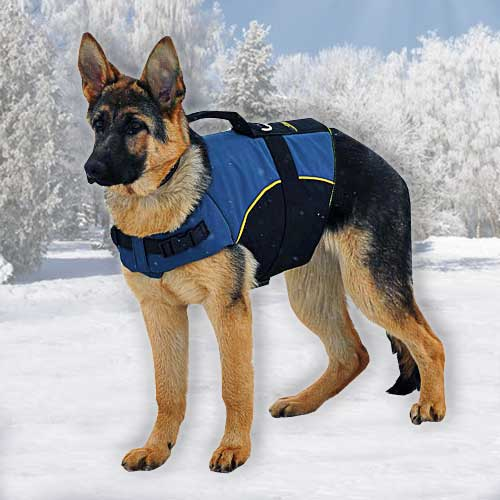 German Shepherd Nylon Vest Harness